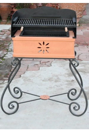 Barbecue in Terracotta